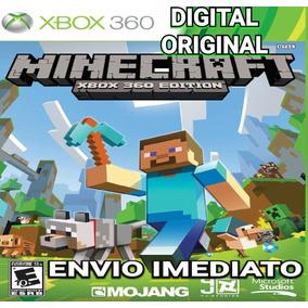 Minecraft Xbox 360 Digital Original Envio Imediato