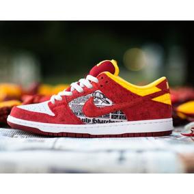 new styles 63689 d791a Zapatos Nike Sb Dunk Low Crawfish X Ruckus Talla 9.5