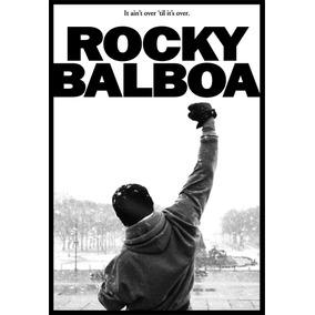 Poster Adesivo Filme Rocky Balboa 60x88