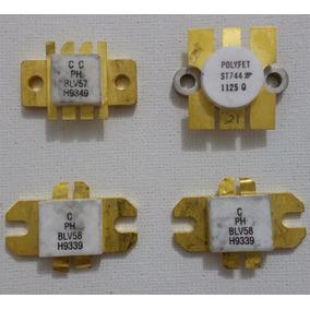 Transistores De Rf Blv57, Blv58, St744, Blv58 Cada Um