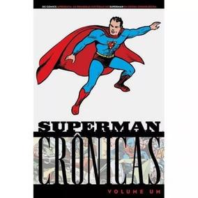 Superman Crônicas Vol 1. Hq Em Capa Dura. Novo E Lacrado.