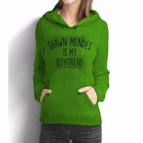 Blusa Moleton Shawn Mendes Is My Boyfriend + Brinde a12d32ace79ab