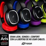 Auricular Bluetooth Inalámbrico Noga Aris
