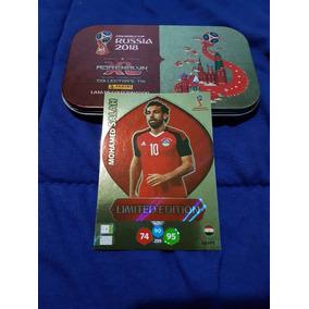 Lata Adrenalyn Xl 2018 + Card Mohamed Salah Limited Edition