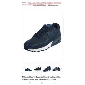 Tenis Zapatillas Nike Air Max 90 Para Hombre 100% Originales a9484d9ff27