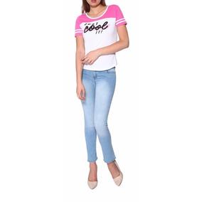 Sexy Jeans Stretch Recto Casual Dama C292