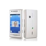 Sony Xperia X8 E15a Single 3g 3.2mp Branco Vitrine 1