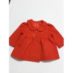 Abrigo Rojo Para Bebe