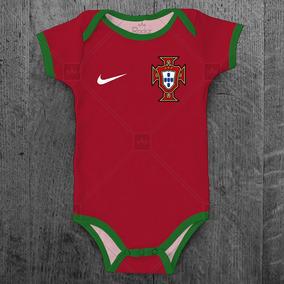 d12fa769b1 Body Seleção Portuguesa Portugal Personalizado C  Nome Bebê