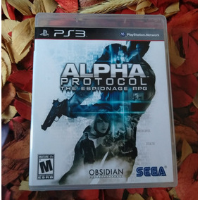 Alpha Protocol The Espionage Mídia Física Ps3 Frete R$ 11,98