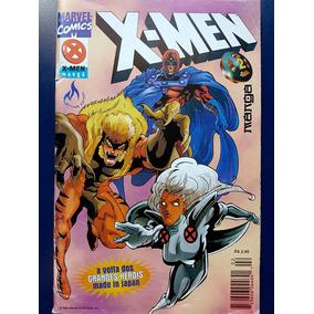 X-men Mangá Hq Quadrinhos Gibi Vintage