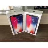 Apple Iphone X 64gb + Novo + Lacrado + Garantia + Anatel