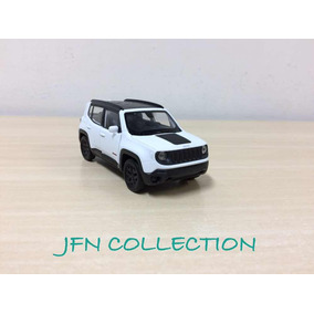 Miniatura Jeep Renegade Trailhawk Branco 2017 Welly 1/36