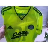 Camisa Do Palmeiras adidas Valdívia Nº 10 Verde Limão Usada