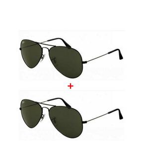 Oculos Feminino - Óculos De Sol Ray-Ban Aviator Sem lente polarizada ... 73aabef0fc