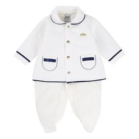 Macacão Longo Com Casaco Baby Sonho - Roupas de Bebê no Mercado ... 6933080ec9a