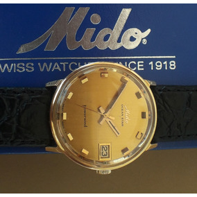 f8d27859b57 Relogio Mido Ocean Star Folheado Ouro - Joias e Relógios
