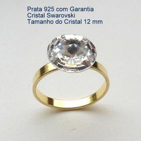 ef0a4b16947 Anel Prata Com Pedra Swarovski - Anéis com o melhor preço no Mercado ...
