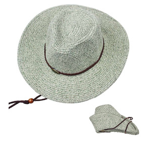 Arhsszy Western Cowboy Plegable Ala Ancha Sombrero De Paj 49a30a4580c