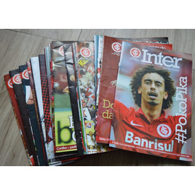 Revista Do Inter - Pacote Com 10 Revistas
