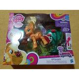 My Little Pony Applejack Articulada Cosecha Manzanas