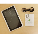 Tablet Pc De 7 Pulgadas Color Blanco