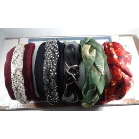 Diademas Y Valerinas Tipo Turbante Desmontable Para Lavar