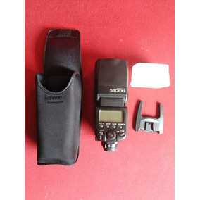 Flash Canon 580 Ex Ii + Bolso + Accesorios