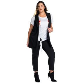 Chaleco Largo Mujer - Chalecos de Mujer en Mercado Libre México c57aaa339d8f