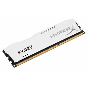 Memoria Ram Pc Hyperx Fury Ddr3 4gb 1600mhz Blanco
