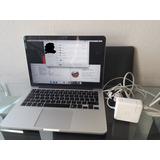 Macbook Pro 13.3 Mod:a1502 Principios 2015, 8 Ram, Ssd 250gb