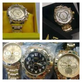 Kit 5 Relógios Masculino Luxo + Caixa Atacado