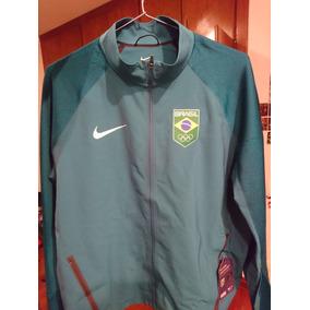 08d9995d7a Jaqueta Brasil Olimpiadas Nike 2016 Rio Olympic Raridade