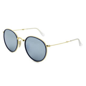 5586f8024c44a Oculos Ray Ban Round Dobravel 51 22 De Sol - Óculos no Mercado Livre ...