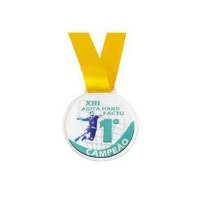 190 Medalha Em Acrílico Personalizadas 4 Cm