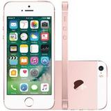 Iphone Se 16gb Apple Rose Mlxn2 - 4g, Tela Ips Lcd 4 Câmera