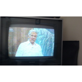 Tv Sharp 16 Pol. Vintage Tudo Funcionando 100%