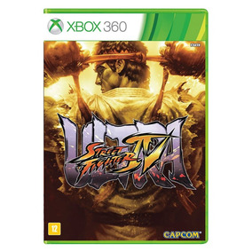 Ultrat Street Fighter Iv - Xbox 360 - Física - Usado