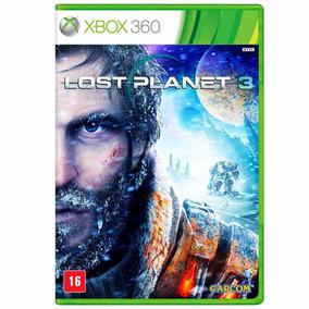 Lost Planet 3 Xbox 360 Lacrado Mídia Física Em Português