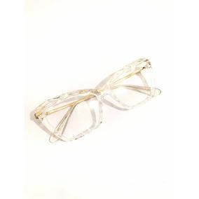 Armação Oculos Grau Feminino Trend-5025 Transparente