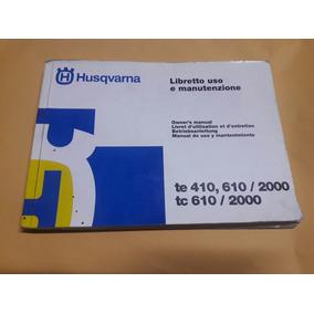 Manual Husqvarna Te 410/610
