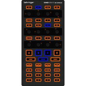 Controlador De Efeito Behringer Midi Cmd Dv-1