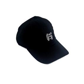 Bone Aba Curva Dat Hat Strapback Masculino Arte Gera Arte Pt. R  75 8a4389229a0