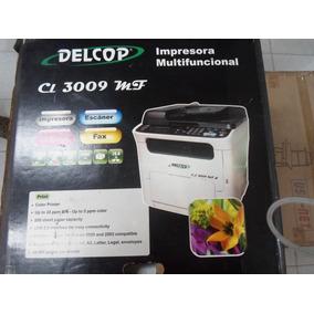 Impresora Delcop Cl 3009 Mf A Color Toner Nueva