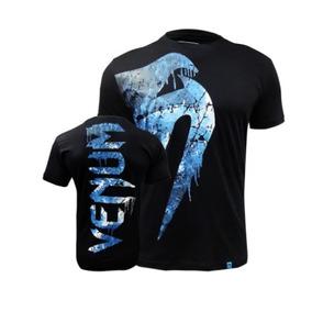 Camiseta Venum Giant - Preto ice - Original 0e312bcd49ef8