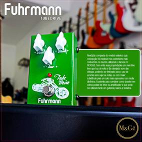 Pedal Fuhrmann Tube Drive Overdrive Para Guitarra Td02