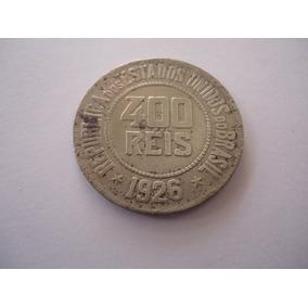 Moeda Niquel 400 Réis 1926 República Estados Unidos Brasil 2