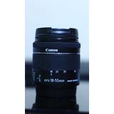 Canon Efs 18-55mm Stm Como Nuevo Mas Extras