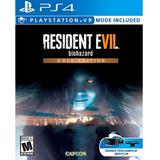 Resident Evil 7: Biohazard Gold Edition Ps4 Físico + Regalo