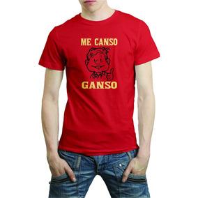 Playera Amlo Frases Me Canso Ganso -envio Gratis